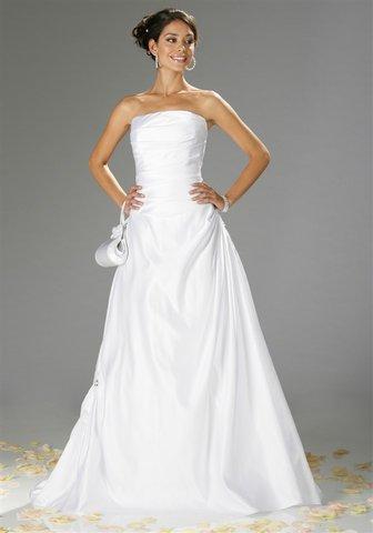 Z5709 kleid brautkleid hochzeitskleid laura scott weiß gr 40 neu 2